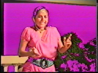 Pictures taken of Sacred Dance and Meditation Course Director Devi Dhyani from the Video of the Performance of Raga Bhairavi in Goa India. Dance002a jpg.jpg (20405 bytes)