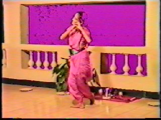 Pictures taken of Sacred Dance and Meditation Course Director Devi Dhyani from the Video of the Performance of Raga Bhairavi in Goa India.Dance002c jpg.jpg (20186 bytes)