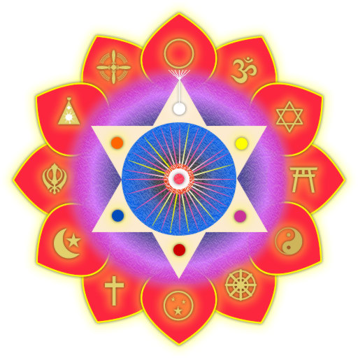 Meditation Energy Enhancement Symbol of ALL Reliogions as ONE!