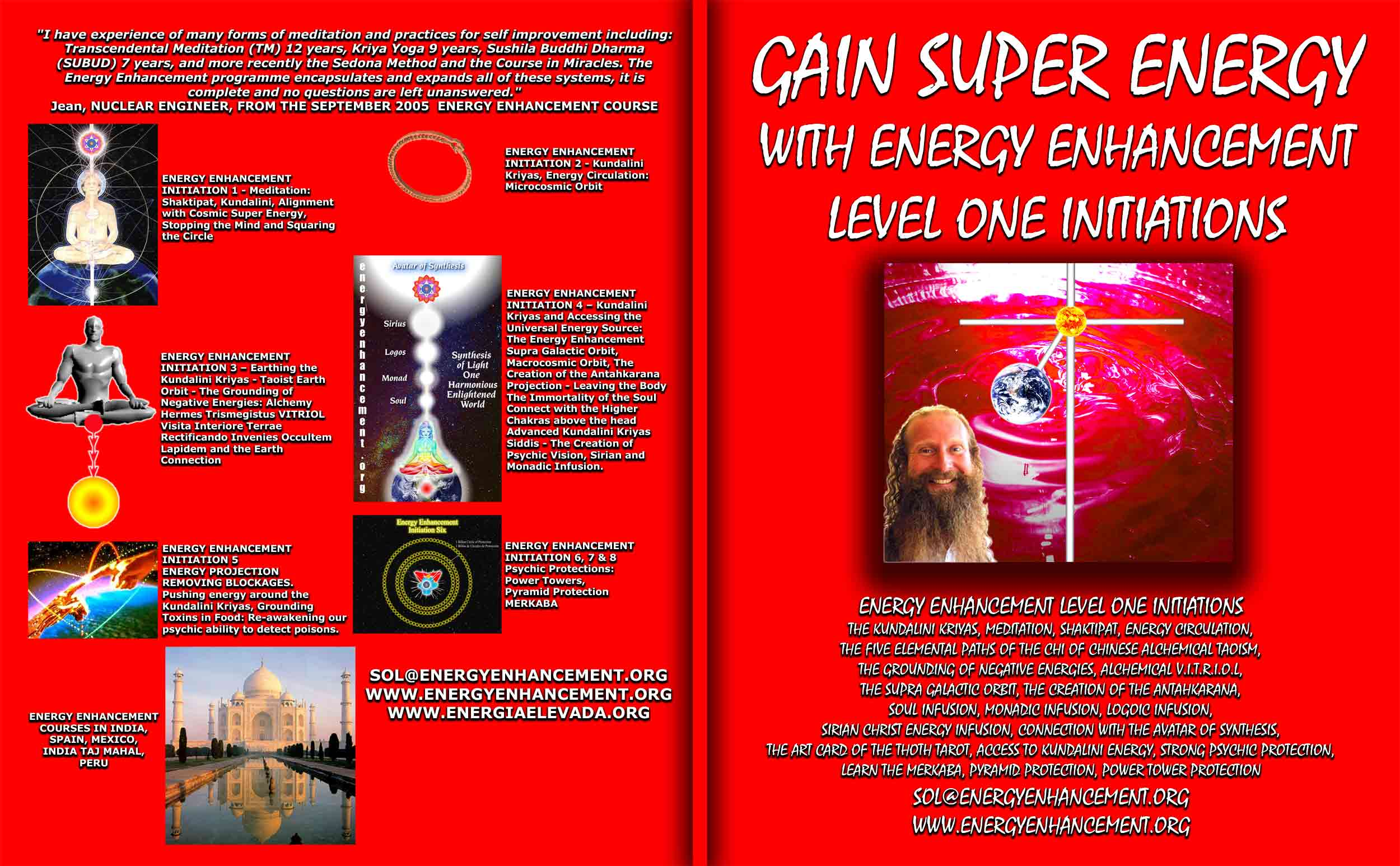 Gain Super Energy With Eight Energy Enhancement Level 1 Initiations  Swami  Satchidanand Why