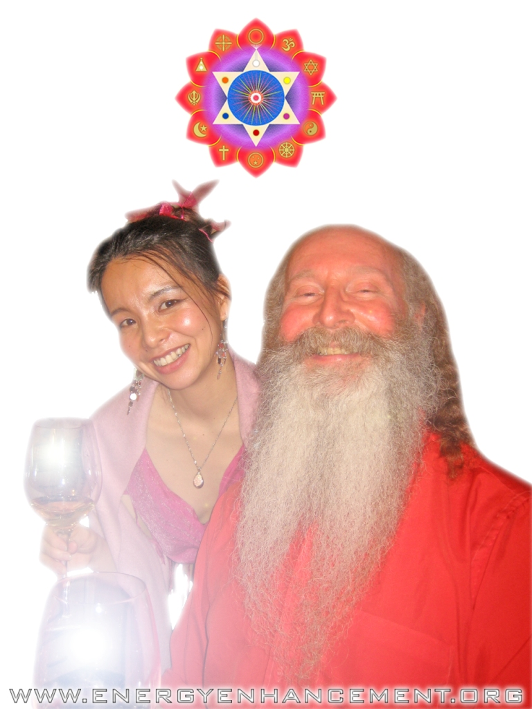 HIROMI AND SATCHIDANAND ON THE ENERGY ENHANCEMENT COURSE IN ARGENTINA JULY 2008