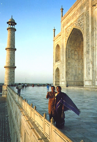 The Taj Mahal with the Energy Enhancement Meditation Course