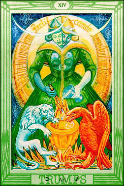 ART-CARD-OF-THE-THOTH-TAROT-VITRIOL-EARTH-CHAKRA-KUNDALINI-SHAKTI