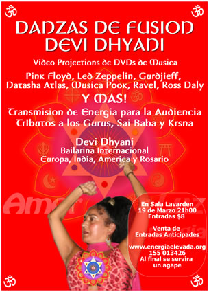 Meditation Energy Enhancement Devi Dhyani Sacred Dances