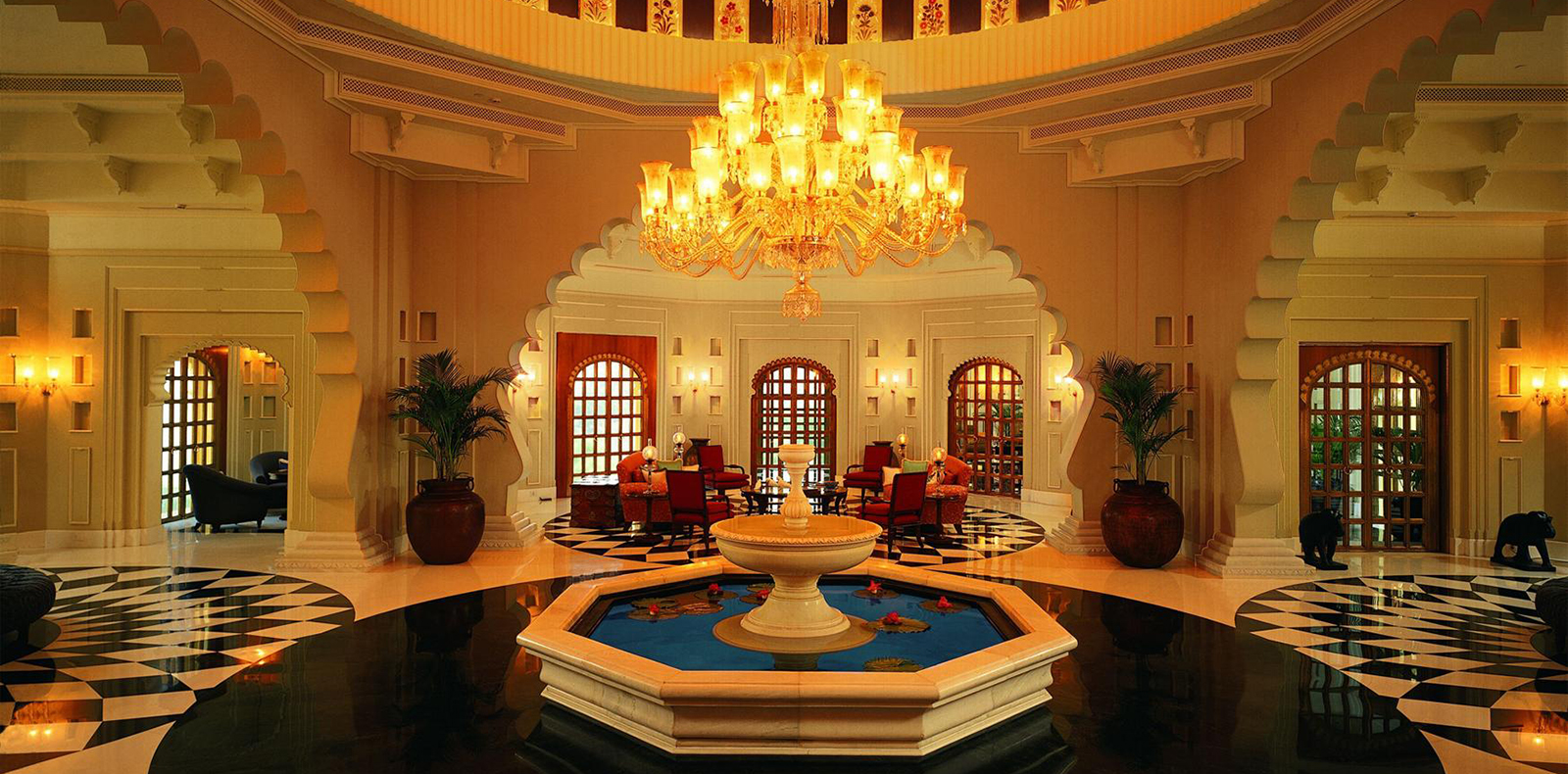 India luxury meditation course in elegant hotels for Top design hotels india